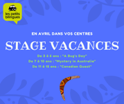 stage vacances avril light